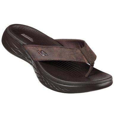 SKECHERS ON THE GO JANDAL - CHOCOLATE
