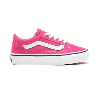VANS OLD SKOOL KIDS - FUCHSIA PURPLE/TRUE WHITE