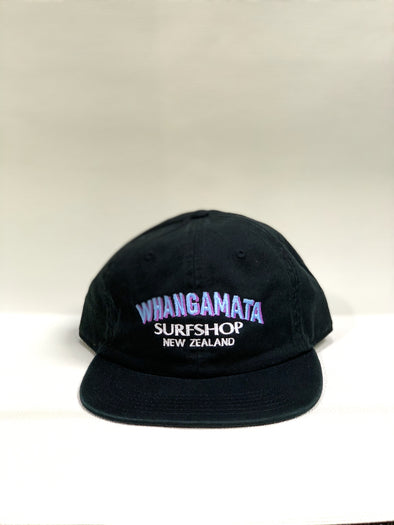 Whanga Surf CORE LOGO DAD CAP - BLACK