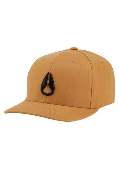 Nixon DEEP DOWN FF ATHLETIC FIT HAT - TOBACCO