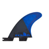 FCS II AM PC MEDIUM COBALT TRI-QUAD RETAIL FINS
