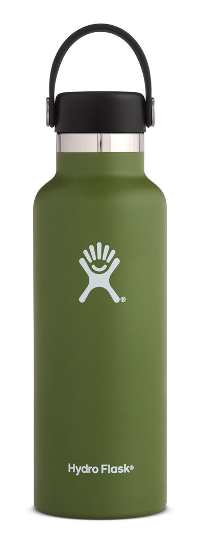 HYDROFLASK 18OZ (532 ML) STANDARD MOUTH - OLIVE