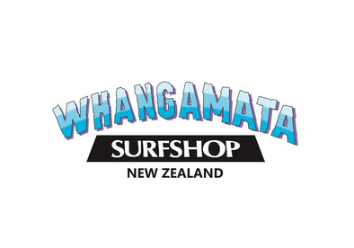 Whangamata Surf Shop New Logo Stickers