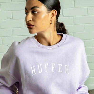 HUFFER SLOUCH CREW /STATESIDE - LILAC
