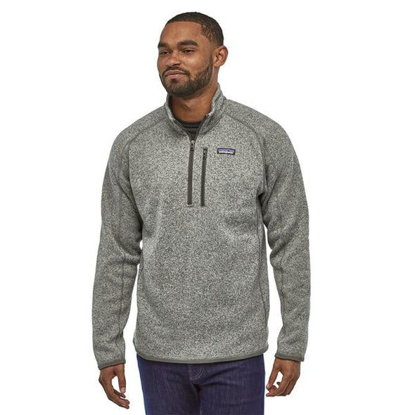 PATAGONIA M'S BETTER SWEATER 1/4 ZIP - STONEWASH