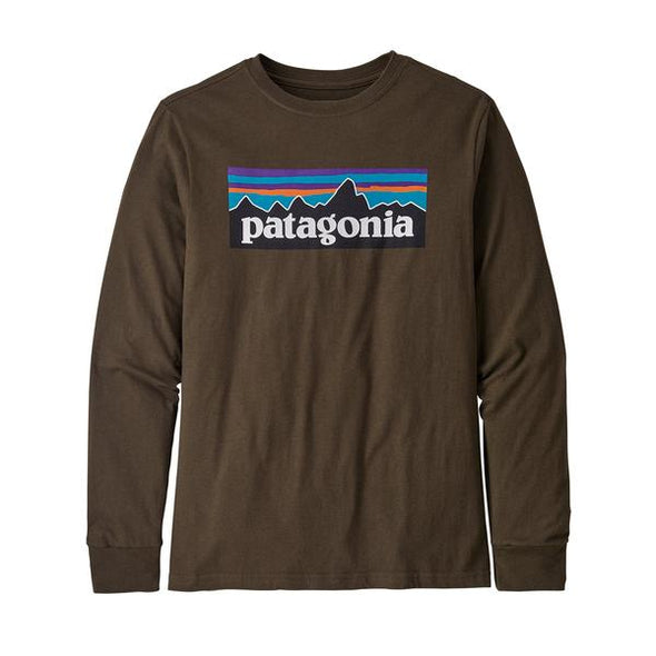 PATAGONIA BOYS L/S GRAPHIC ORGANIC T-SHIRT