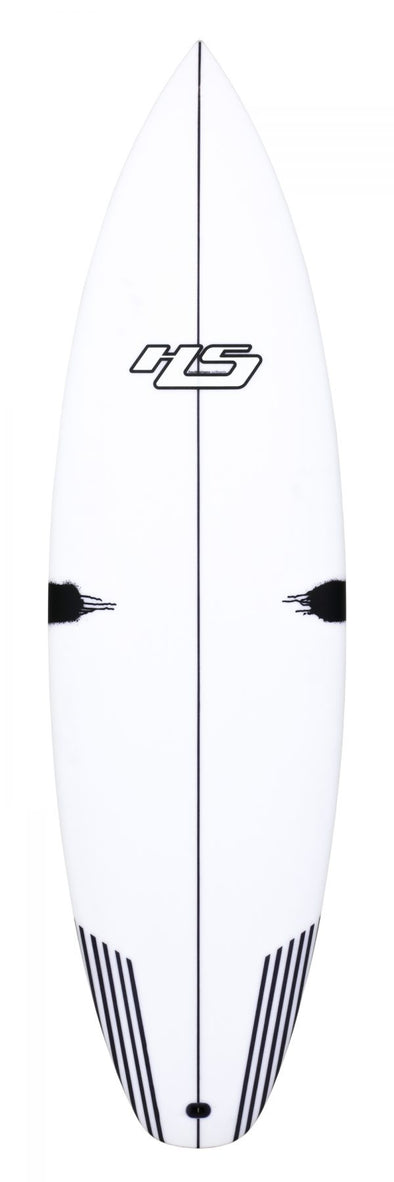 HAYDEN SHAPES SURFBOARDS WHITE NOIZ PU/COMP STRINGER