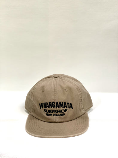 Whanga Surf CORL LOGO DAD CAP - COFFEE