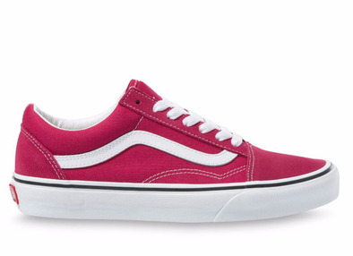 VANS OLD SKOOL - CERISE/TRUE WHITE