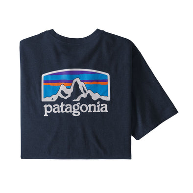 PATAGONIA M'S FITZ ROY HORIZONS RESPONSIBILITY TEE - NEW NAVY