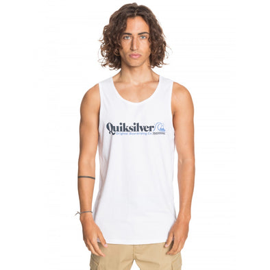 QUIKSILVER CHCK YO SELF TANK - MENS - WHITE