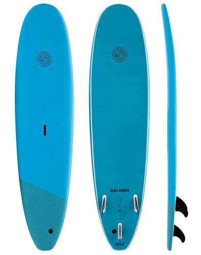 GNARLOO SOFTBOARDS BEACH CRUISER 7'6