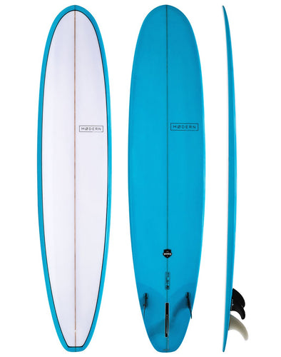 MODERN SURFBOARDS THE BOSS 8'6 PU BLUE TINT