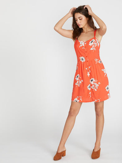 VOLCOM 1 MINUTE MORE DRESS - ORR