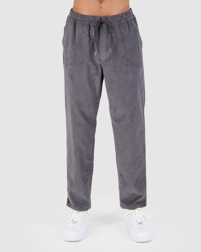 HUFFER COMFORT CORD RELAX PANT - CHARCOAL
