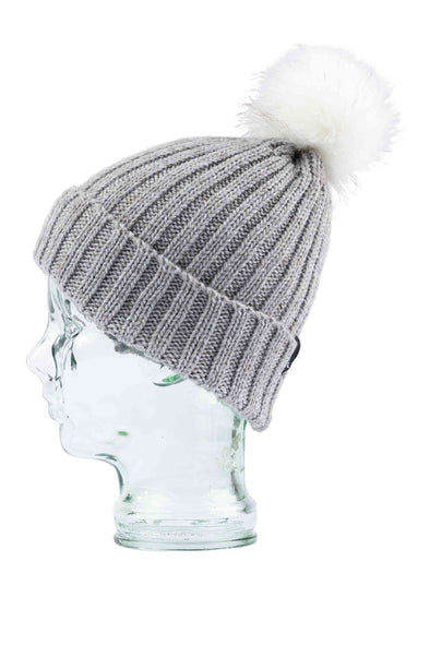 RUSTY HOMESLICE BEANIE - OPAL GREY