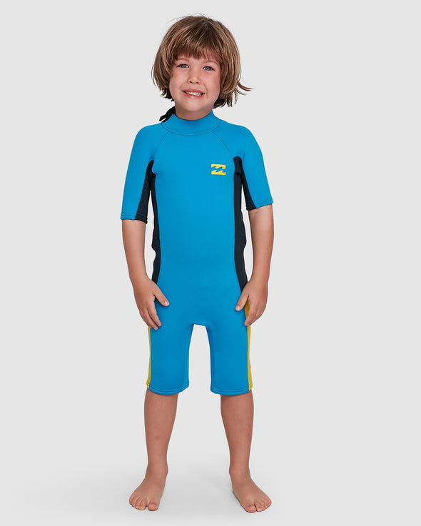 BILLABONG 202 TODDLER ABSOLUTE BZ S/S SPRING - CYAN