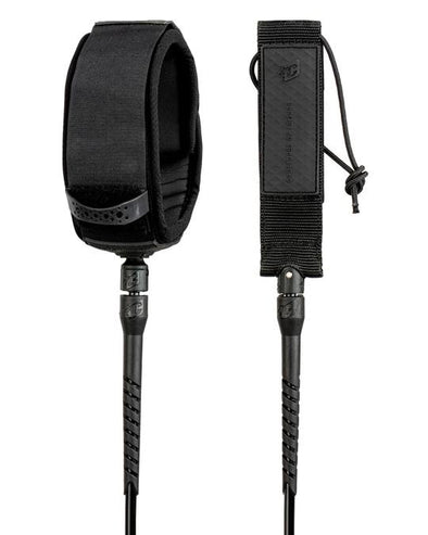 CREATURES 10 RELIANCE LONGBOARD KNEE LEASH - BLACK