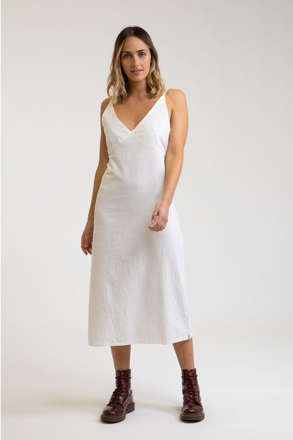 RHYTHM PORTOFINO DRESS - WHITE