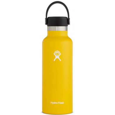 HYDROFLASK 18OZ (532 ML) STANDARD MOUTH - SUNFLOWER