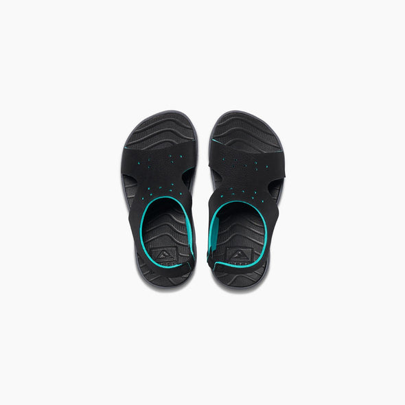 REEF LITTLE BEACHY - BLACK/BLACK