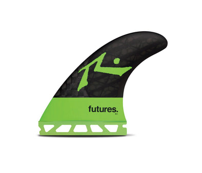 FUTURES BLACK STIX 3.0  RUSTY 3 FIN LARGE