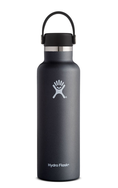 HYDRO FLASK 21 oz Standard Mouth BLACK