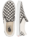 VANS CLASSIC SLIP ON BLACK & WHITE CHECKER BOARD