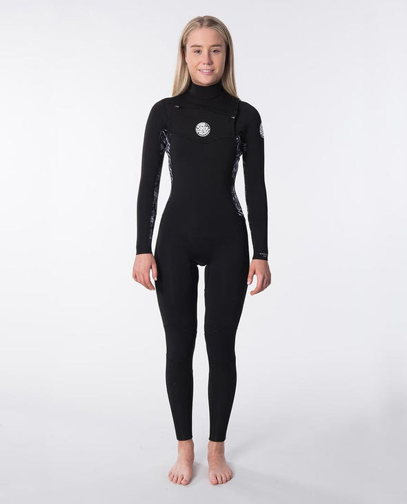 RIP CURL WMNS.D/PATROL 43 GB C/ZIP - 0097 BLACK/GREY