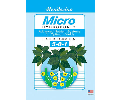 Grow More Mendocino Micro 5-0-1, 2.5 gal