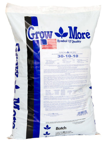 Grow More Cold Water Plant 30-10-10 Fertilizer 25 lbs