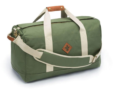 Revelry Supply The Around-Towner Medium Duffle Bag Green