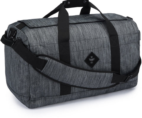 Continental Revelry Supply Striped Black Large Duffle