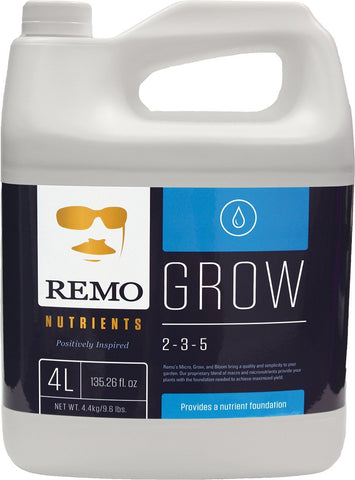Remo Grow Plants Soil Hydroponic Nutrients 4 L