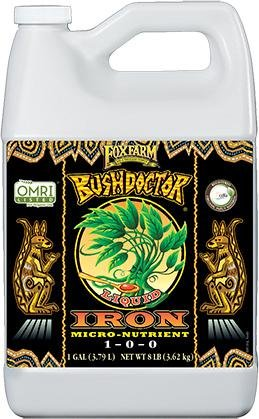 FoxFarm Bush Doctor Liquid Iron, 1 gal