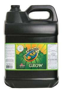 Technaflora Pura Vida Grow Organic Hydroponic Fertilizer 10 L