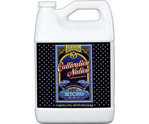 FoxFarm Cultivation Nation™ Micro, 1 gal
