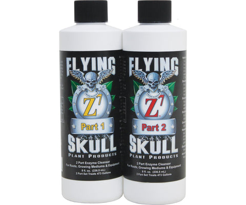 Flying Skull Enzyme Cleanser 8 Oz