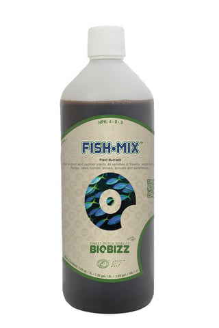 Biobizz Fish-Mix Liquid Organic Fish Emulsion Plant Stabilizer 1 L