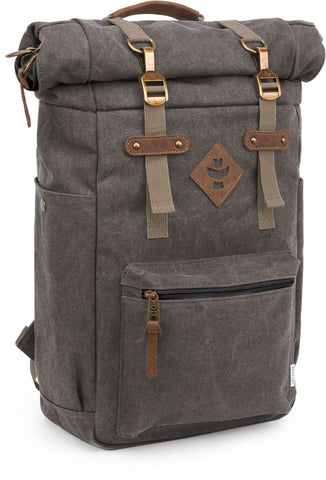 Revelry Supply The Drifter Rolltop Waterproof Ash Backpack