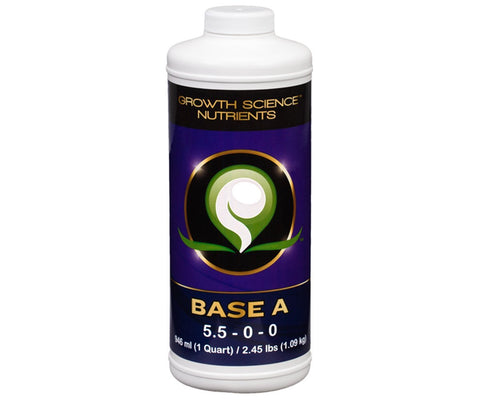 Growth Science Nutrients Base A, 1 qt
