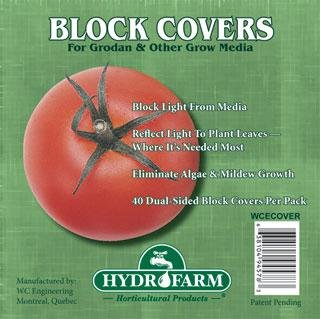"Rockwool Block Cover, 6"", Pack of 40"