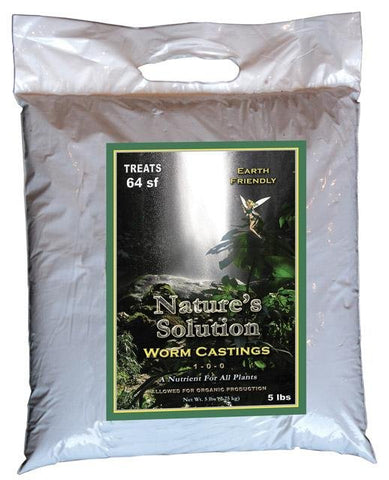 Nature's Solution Fertilizer With Organic Production 5 lbs