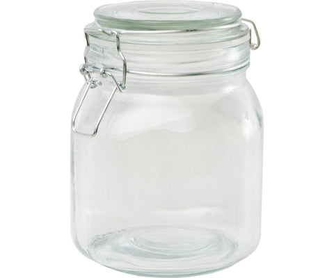 Private Reserve Spring Clamp Jars, 34 oz, pack of 6
