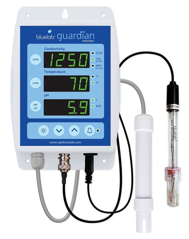 Bluelab Guardian Conductivity Temperature Compensation Monitor