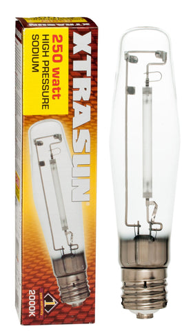 Xtrasun High Pressure Sodium (HPS) Lamp, 250W, 2000K