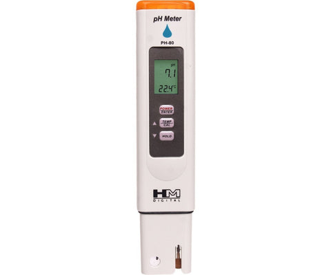 HM Digital PH-80 pH Temperature Meter Tester Hydroponics
