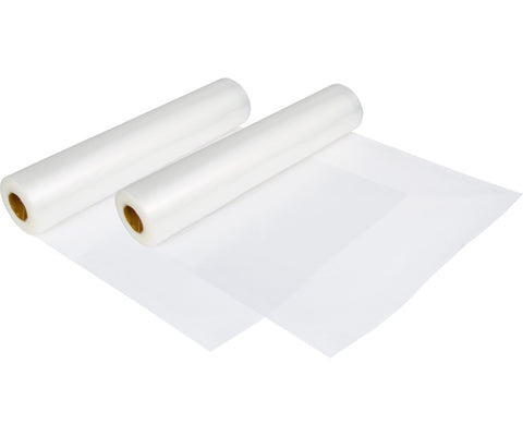 "Plastic Vacuum Rolls Cut-To-Size 11"" X 197"" Roll 2 Pcs"