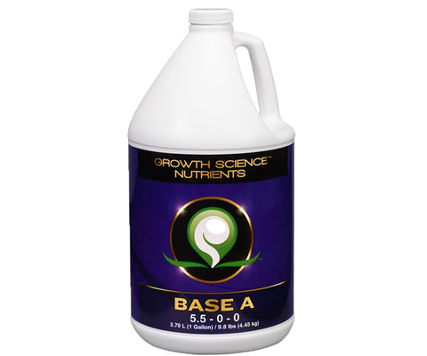 Growth Science Nutrients Base A, 1 gal