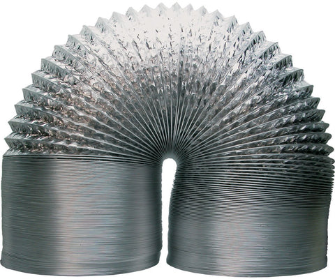 "Air Duct Non-Insulated Durable Construction 10"" - 25'"